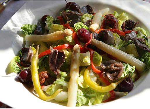 Salade Estivale De Gsiers De Canard Pierre Oteiza