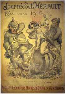Bacchus et le raison vainqueur, 1916