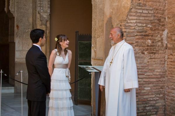 Jennifer Juans wedding at the Alhambra Granada