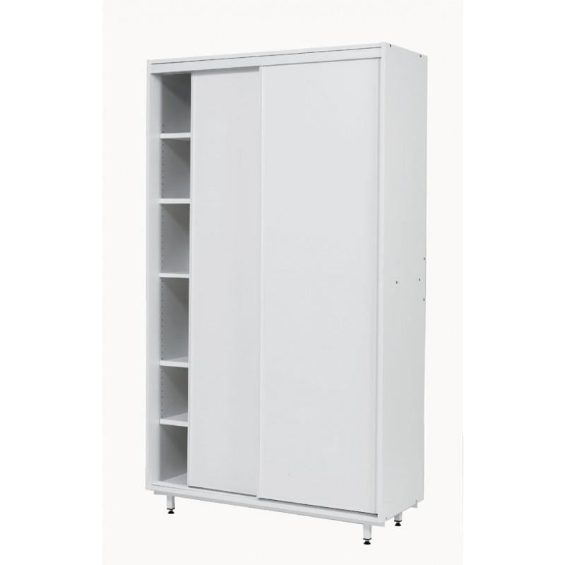 armoire de rangement portes coulissantes