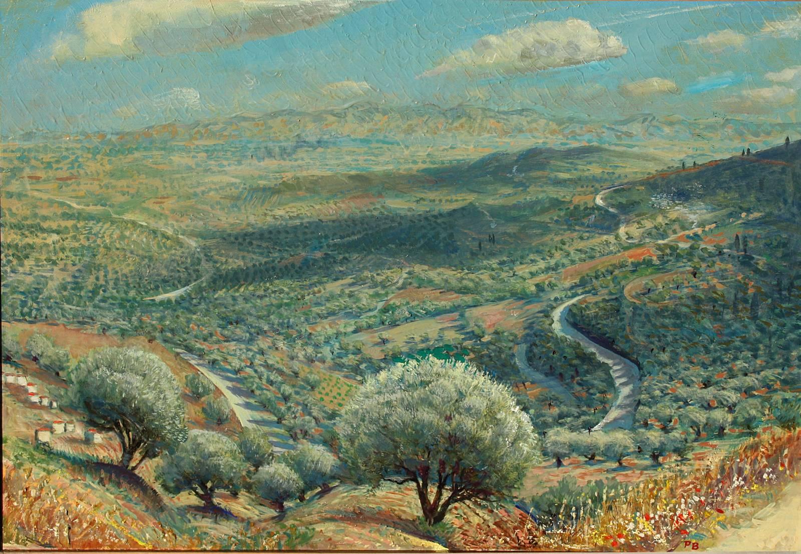 Mediterranean Scenery Art Mediterranean Landscape And Seascape Art