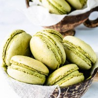 Matcha Macarons plus Tips on How to Make French Macarons