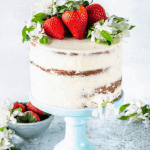 Pineapple Strawberry Layer Cake
