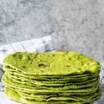 spinach tortillas from scratch