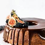 Pecan Fig Bundt Cake