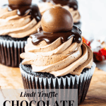 Lindt Truffle Chocolate Cupcakes-3