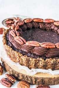 Pecan Brownie Vegan Pie