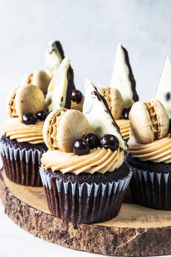 Mocha Cupcakes Coffee Bark