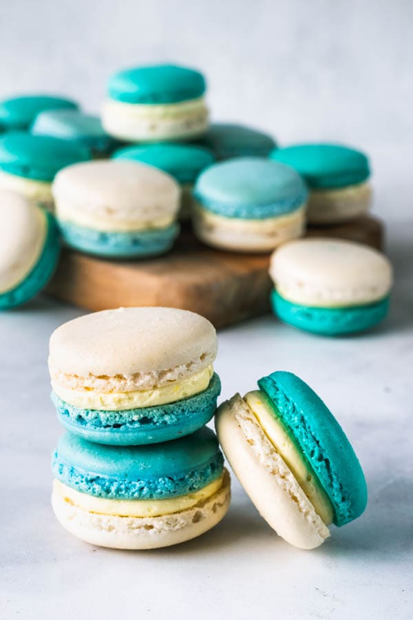 French Vanilla Macarons