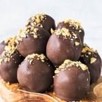 Peanut Butter Vegan Truffles