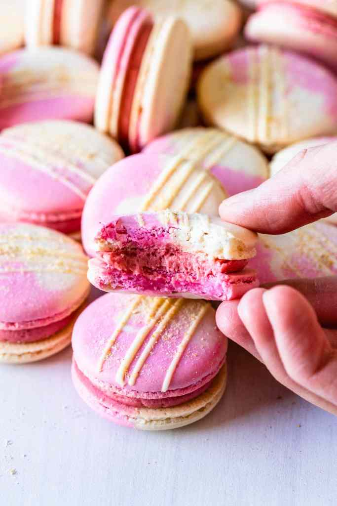 Strawberry Macarons Pies And Tacos