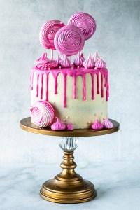 Almond Strawberry Cake