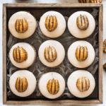 Dulce de Leche Walnut Macarons