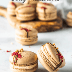 Peanut Butter and Jelly Macarons