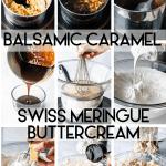 balsamic caramel swiss meringue buttercream