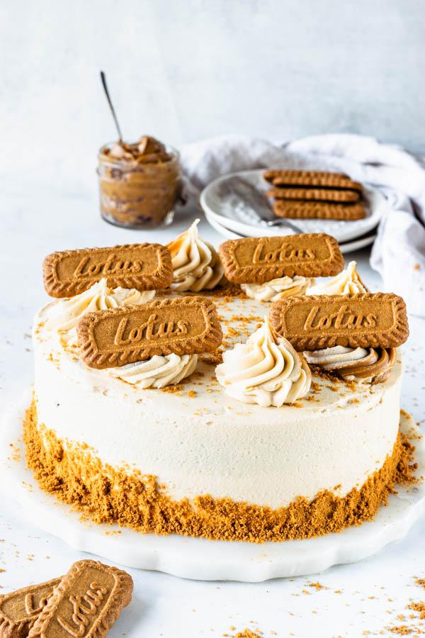 Biscoff Vegan Marble Cake