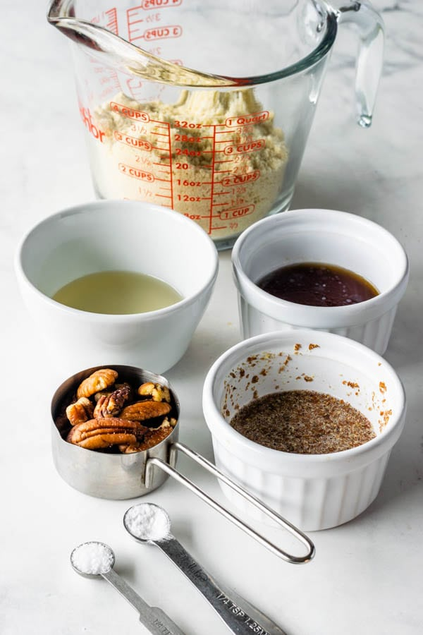 vegan pecan pie crust ingredients