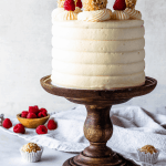 Raspberry Coconut Cake