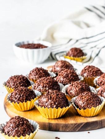 Nutella Fudge balls