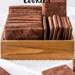 Chocolate Sugar Cookies