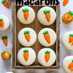 Carrot Cake Macarons