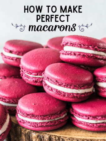 picture showing macarons on top of each other