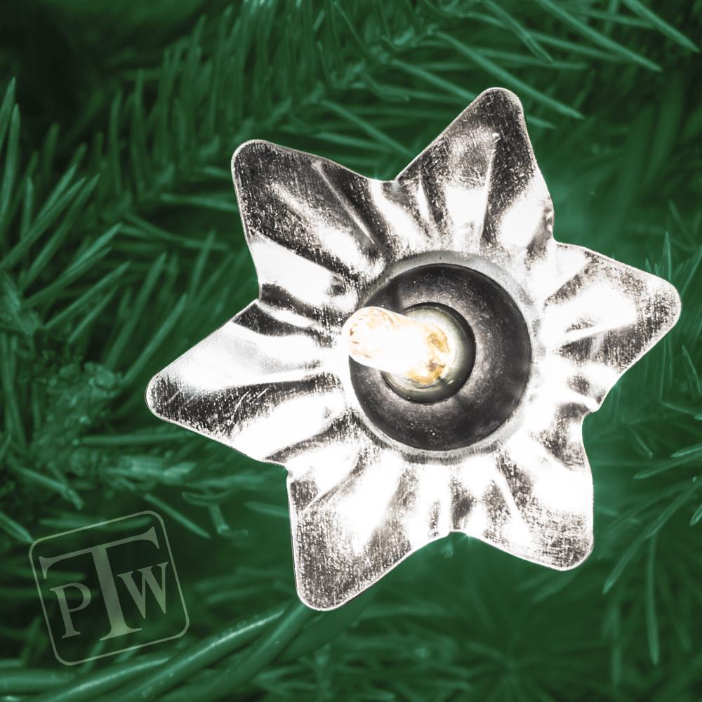 christmas light reflectors star 24
