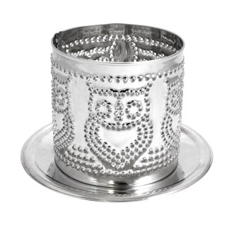 Front Tealight Owl Shade