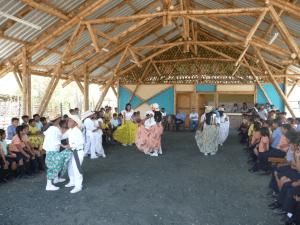 Danza della Tessitrice – nel  nuovo refettorio della scuola di Julcuy