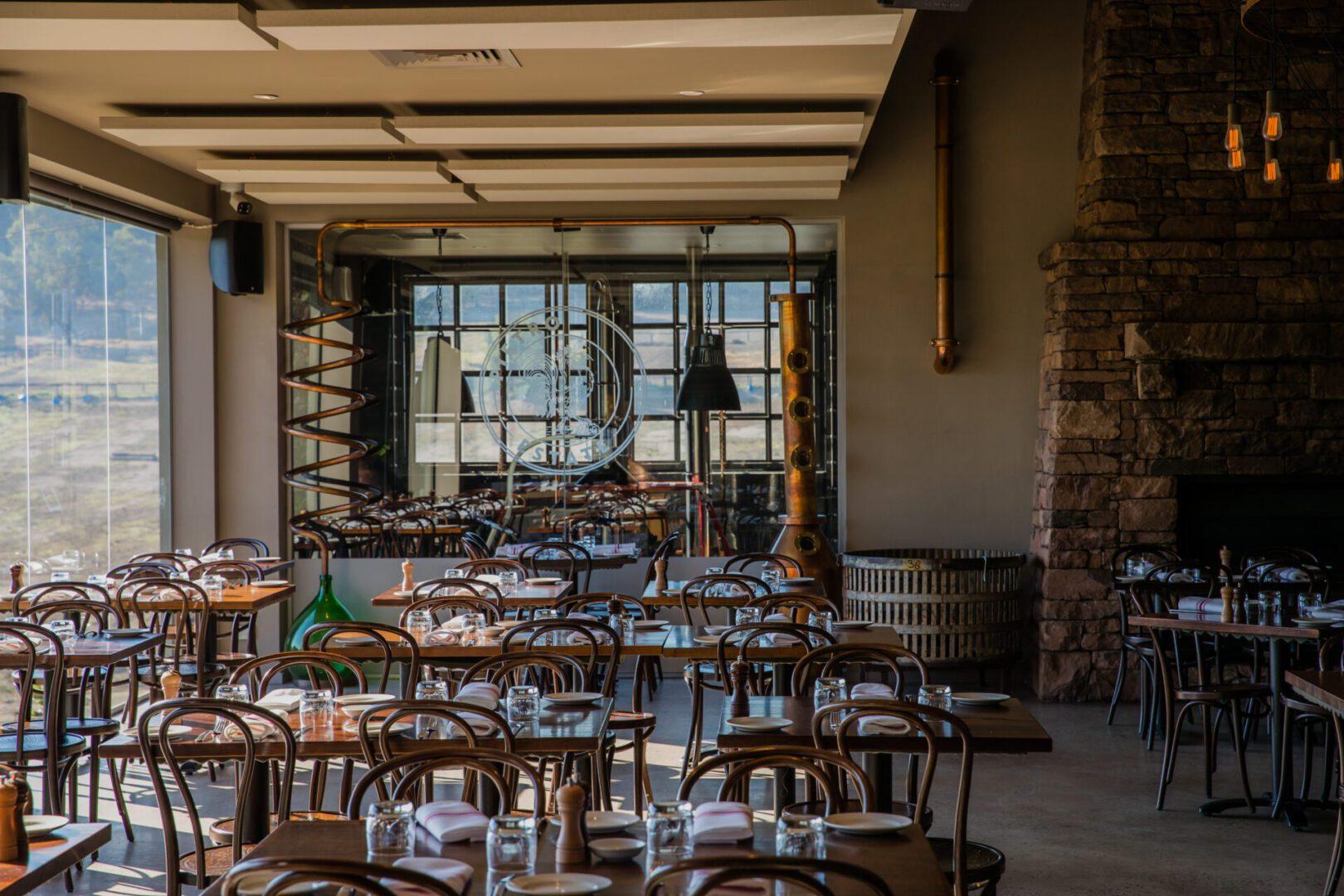 Olivigna Restaurant Dining Area
