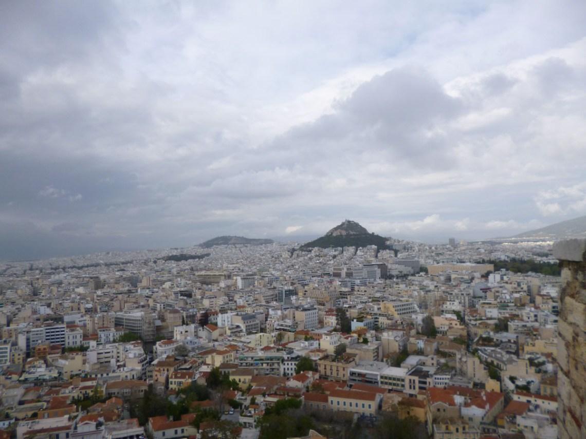 cosa vedere ad atene panorama città licabetto