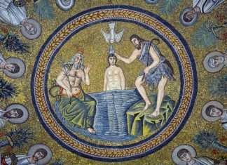 ravenna battistero ariani mosaici