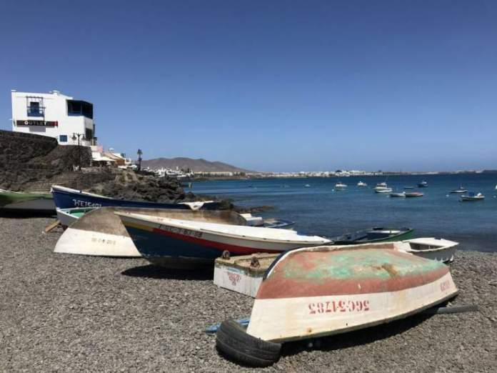 playa blanca barche