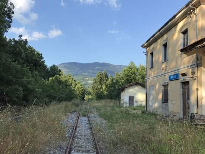 stazione rovito abbandonata