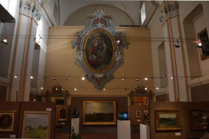 pinacoteca palazzo vittone