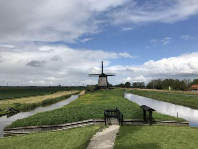 mulino canali olanda