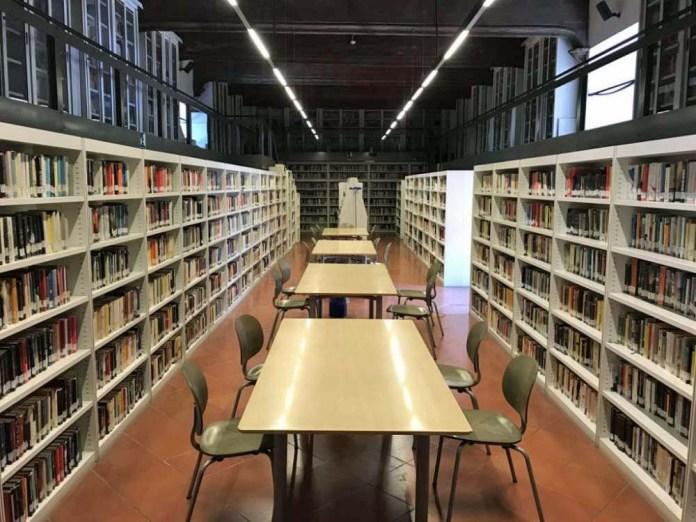 biblioteca archivio castello
