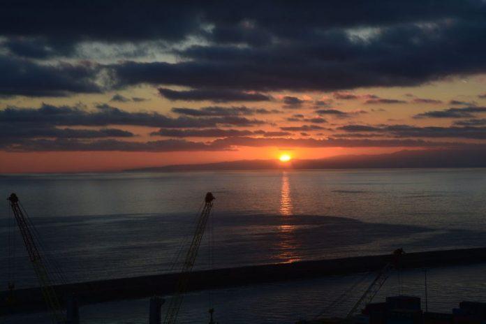 tramonto lanterna