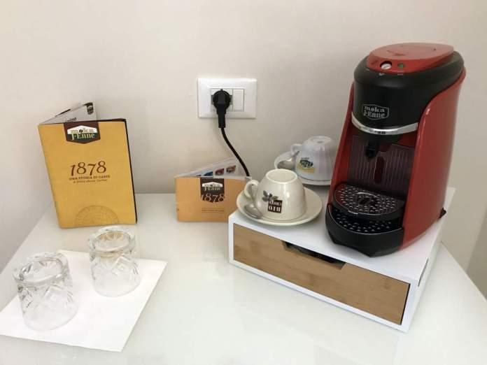 macchina tè caffè battistero