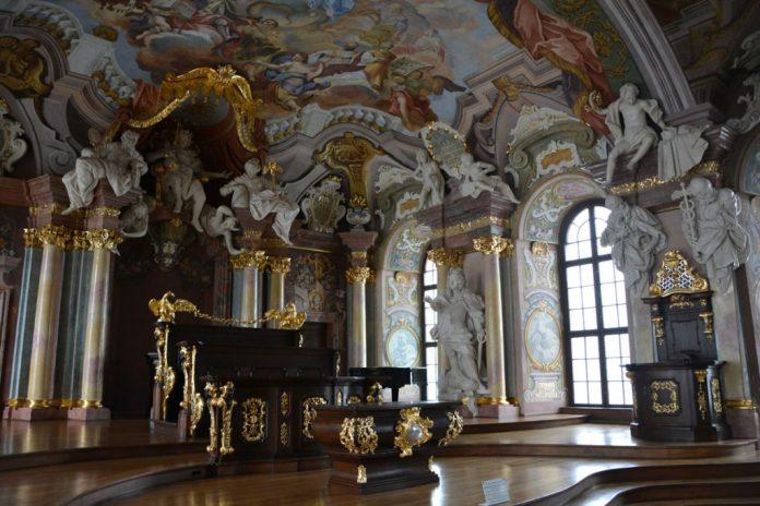 affreschi aula leopoldina
