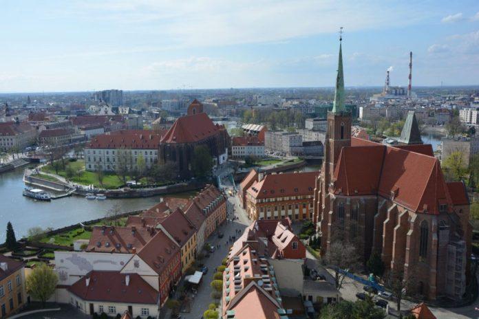 cattedrale vista città