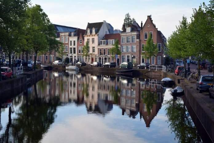 rapenburg canale