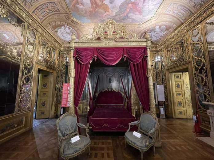 camera letto palazzo carignano