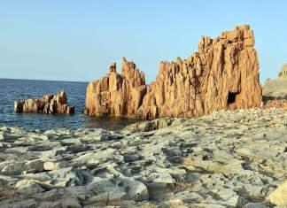 itinerario sardegna orientale rocce rosse arbatax