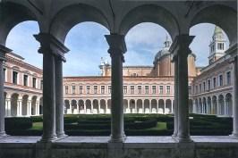 Il chiostro della Chiesa di San Giorgio Maggiore