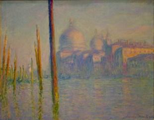 Il Canal Grande e la Basilica della Salute