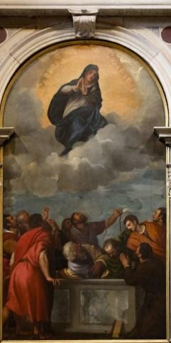 L'Assunzione della Vergine di Tiziano Vecellio