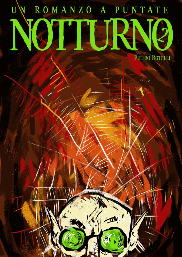 Copertina del secondo numero di Notturno.