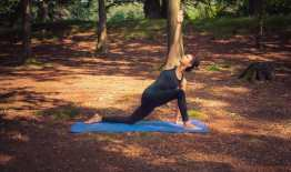 Stefanie PIetschmann Yoga in the forest