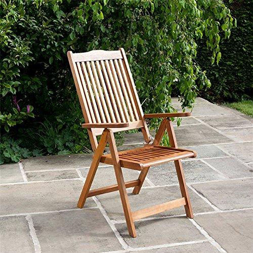 BillyOh Windsor Reclining Wooden Garden Chair